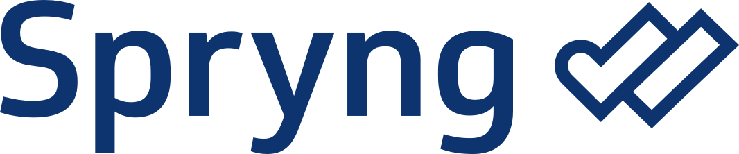 Spryng logo oranje